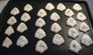 Spritz Cookies Ready for Baking