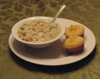 Soup and Corn Bread Make Great Comfort Food
