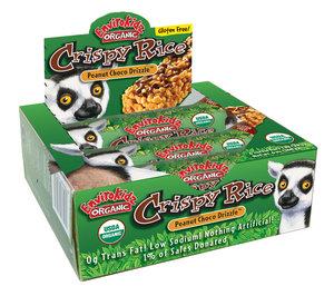 Peanut Choco Drizzle Crispy Rice Bars; picture courtesy: envirokidz.com