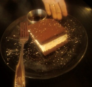 Yummy Flourless Chocolate Cake at The Liffey