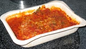 Cooked Vegetarian Lasagna