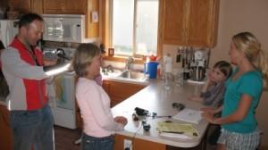 Ida & Emma Interviewed at Home