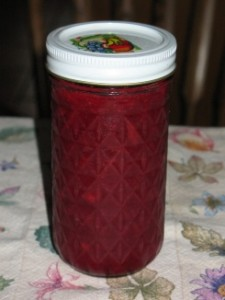 Homemade, Gluten-Free Strawberry-Rhubarb Jam