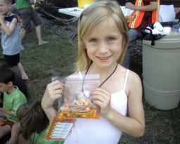 VBS Snack: pretzels, cheese balls, Bugles. How would you make a gf version?