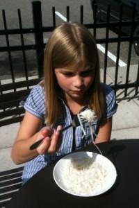 Emma's rice noodles at Noodles & Co.
