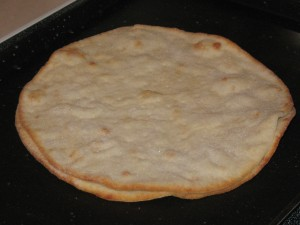 Pre-cooked Udi's Pizza Crust