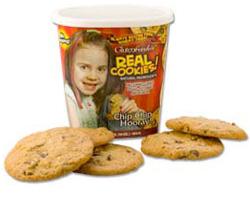 GlutenFreeda's Chocolate Chip Cookies