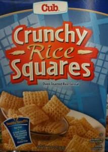Cub GF Cereal