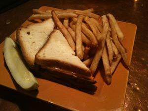 Triple Decker GF Grilled Cheese & Fries