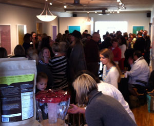 Packed House at Chowgirls for the Gluten-Free Bake-Off