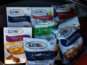 New Glutino Snacks